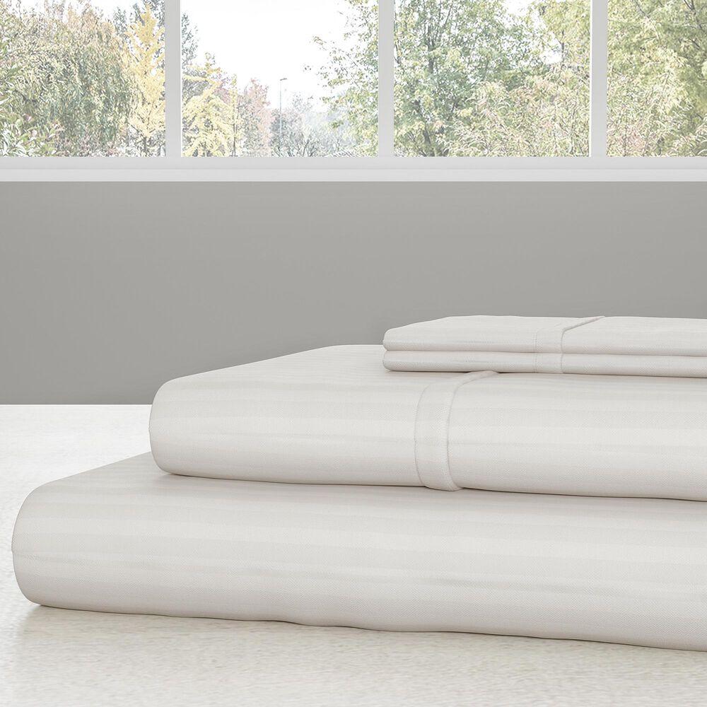 Timberlake Lavish Home 4-Piece King Sheet Set in White, , large