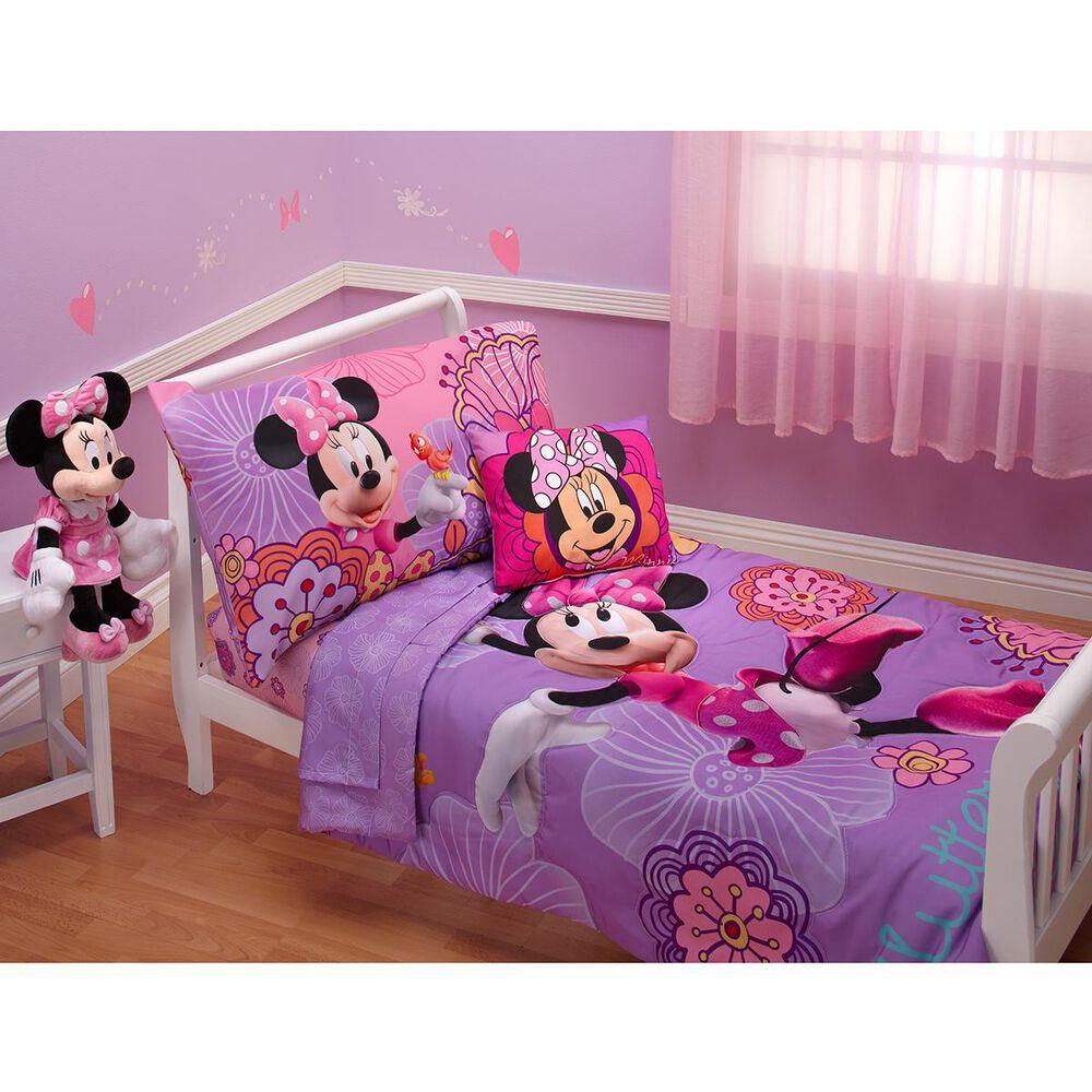 Crown Crafts Minnie 4 Piece Toddler Set, , large