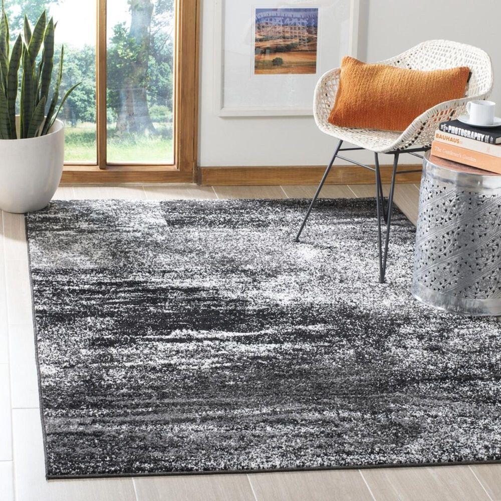 Safavieh Adirondack ADR112A 4' x 6' Silver and Black Area Rug, , large