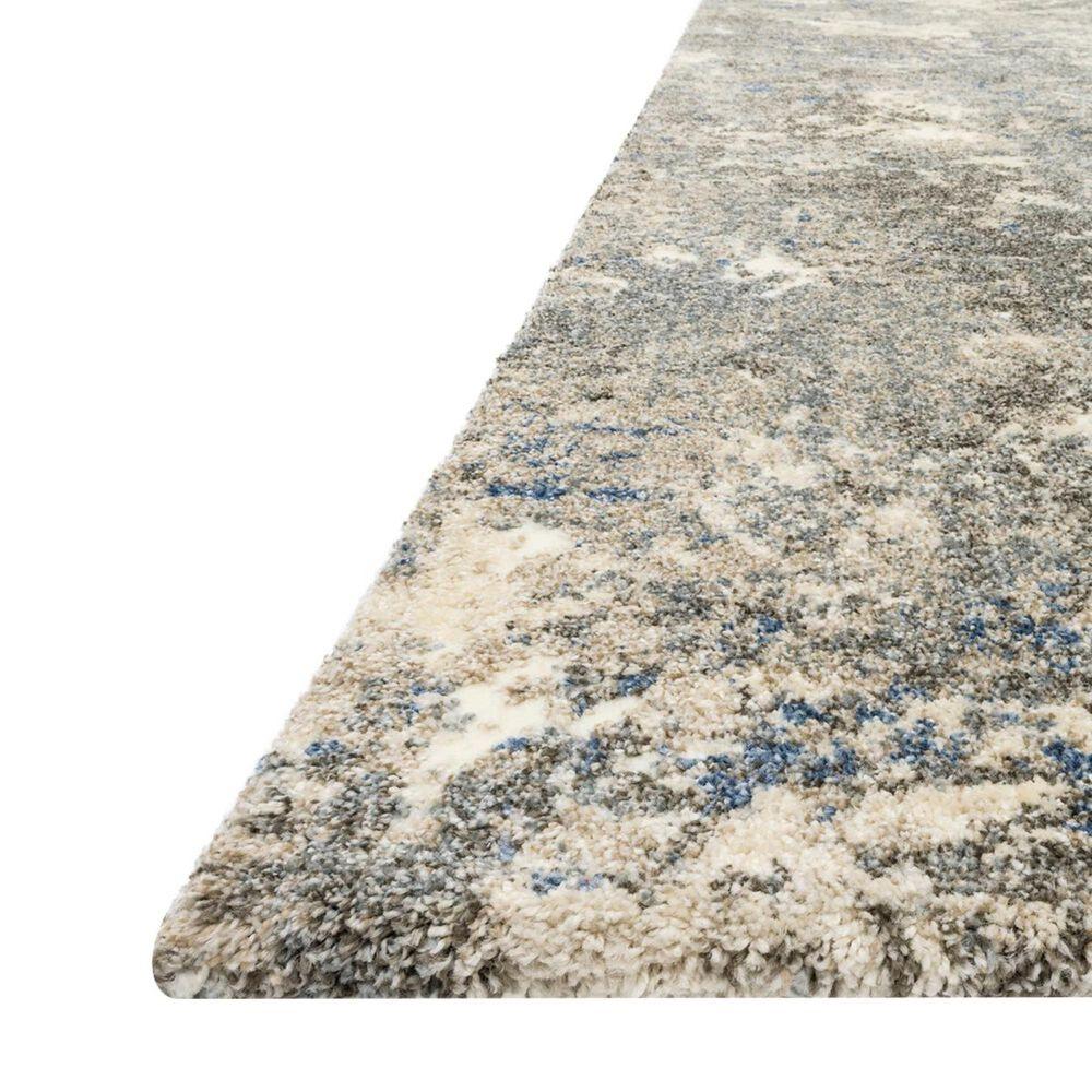 """Loloi Landscape LAN-04 2'2"""" x 10'6"""" Slate Runner, , large"""