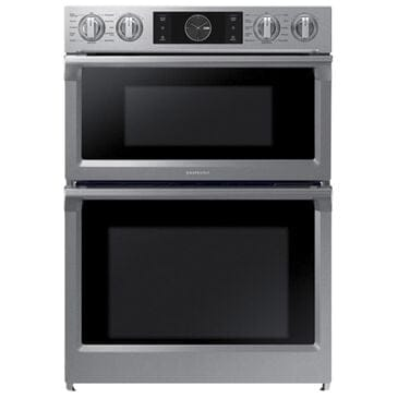 """Samsung 30"""" Microwave Combination Wall Oven with Flex Duo in Stainless Steel, , large"""
