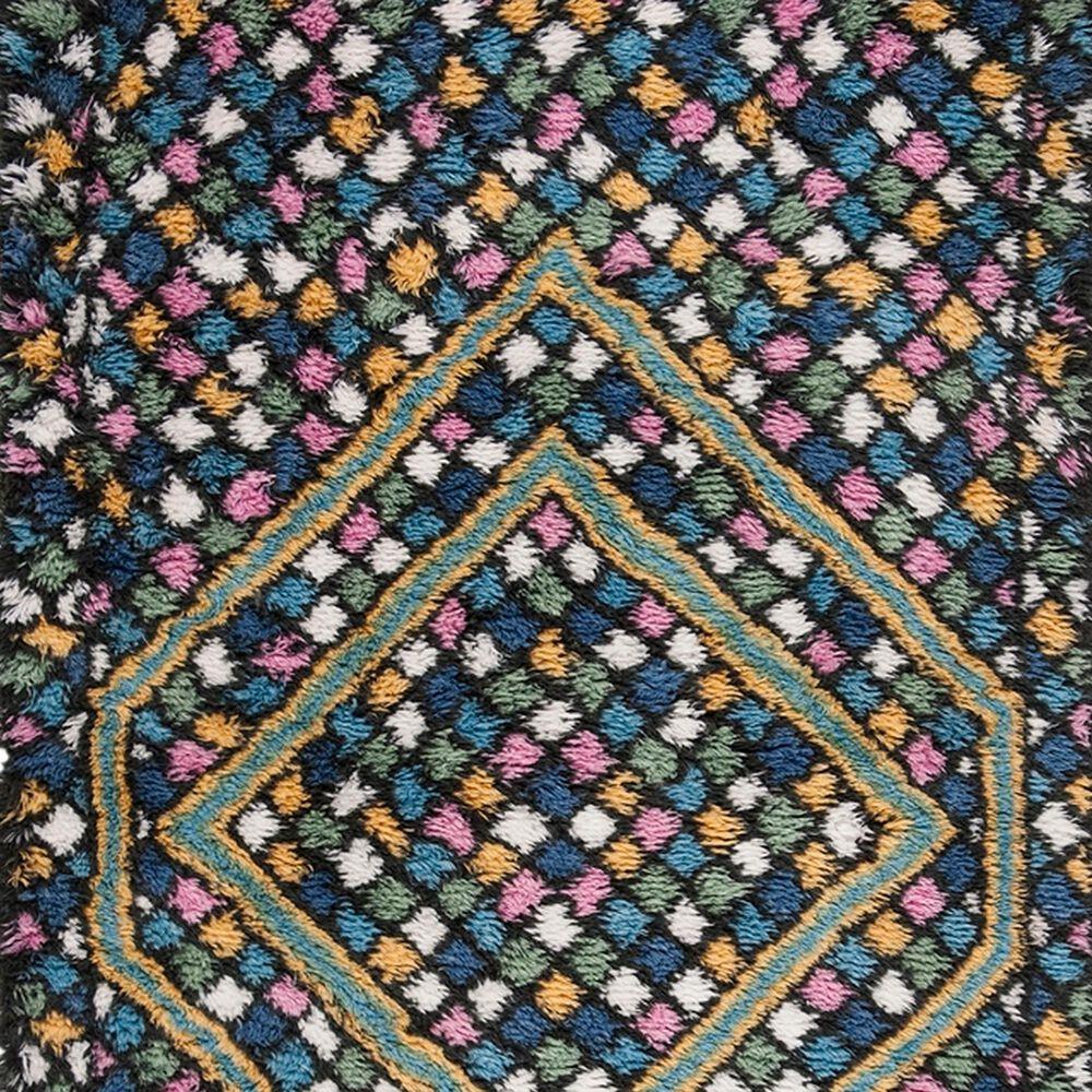 Safavieh Casablanca CSB750M 4' x 6' Blue and Gold Area Rug, , large
