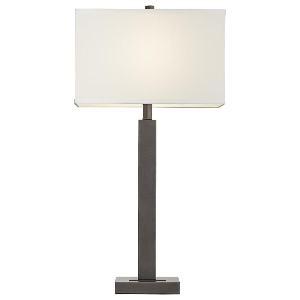 Pacific Coast Lighting Cooper Table Lamp in Gun Metal, , large