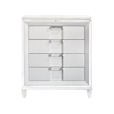 Mayberry Hill Twenty Nine 4 Drawer Chest in White, , large