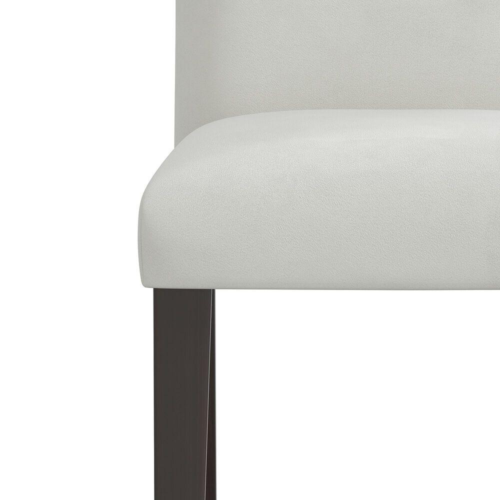 Skyline Furniture Dining Chair in Velvet Light Grey, , large