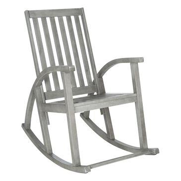 Safavieh Clayton Rocking Chair in Grey, , large