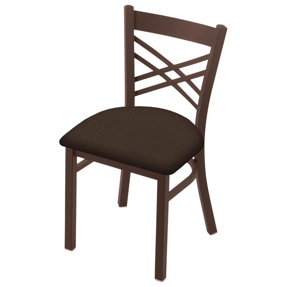 """Holland Bar Stool 620 Catalina 18"""" Chair with Bronze and Rein Coffee Seat, , large"""