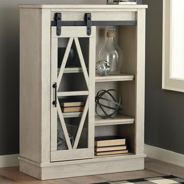 37B Bronfield Accent Cabinet in White, , large