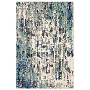 "Scott Living Expressions Precipice 91676-50137 9'6"" x 12'11"" Lagoon Area Rug, , large"