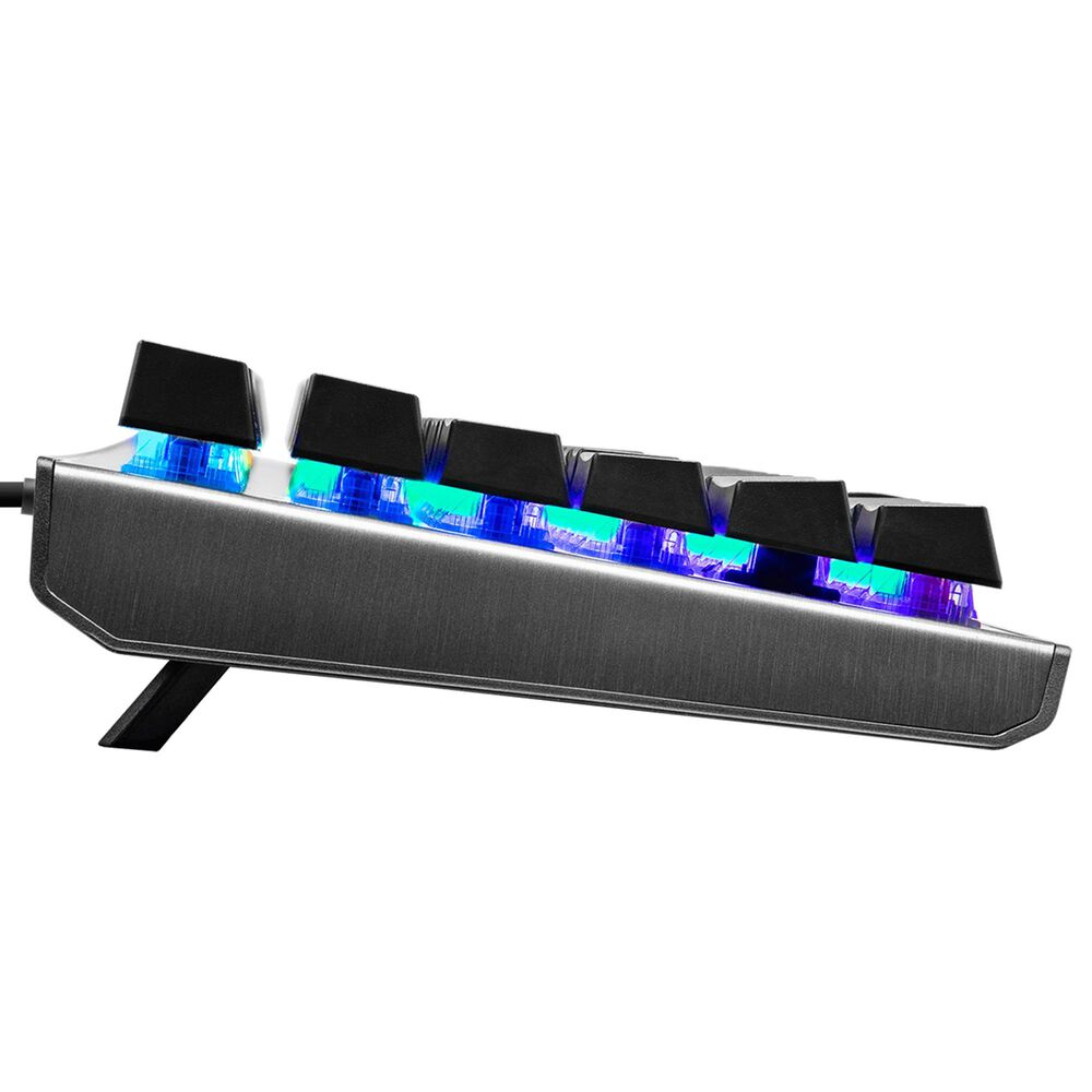 Cooler Master CK530 V2 Tenkeyless Gaming Mechanical Keyboard Blue Switch with RGB Backlighting, On-The-Fly Controls, and Aluminum Top Plate, , large