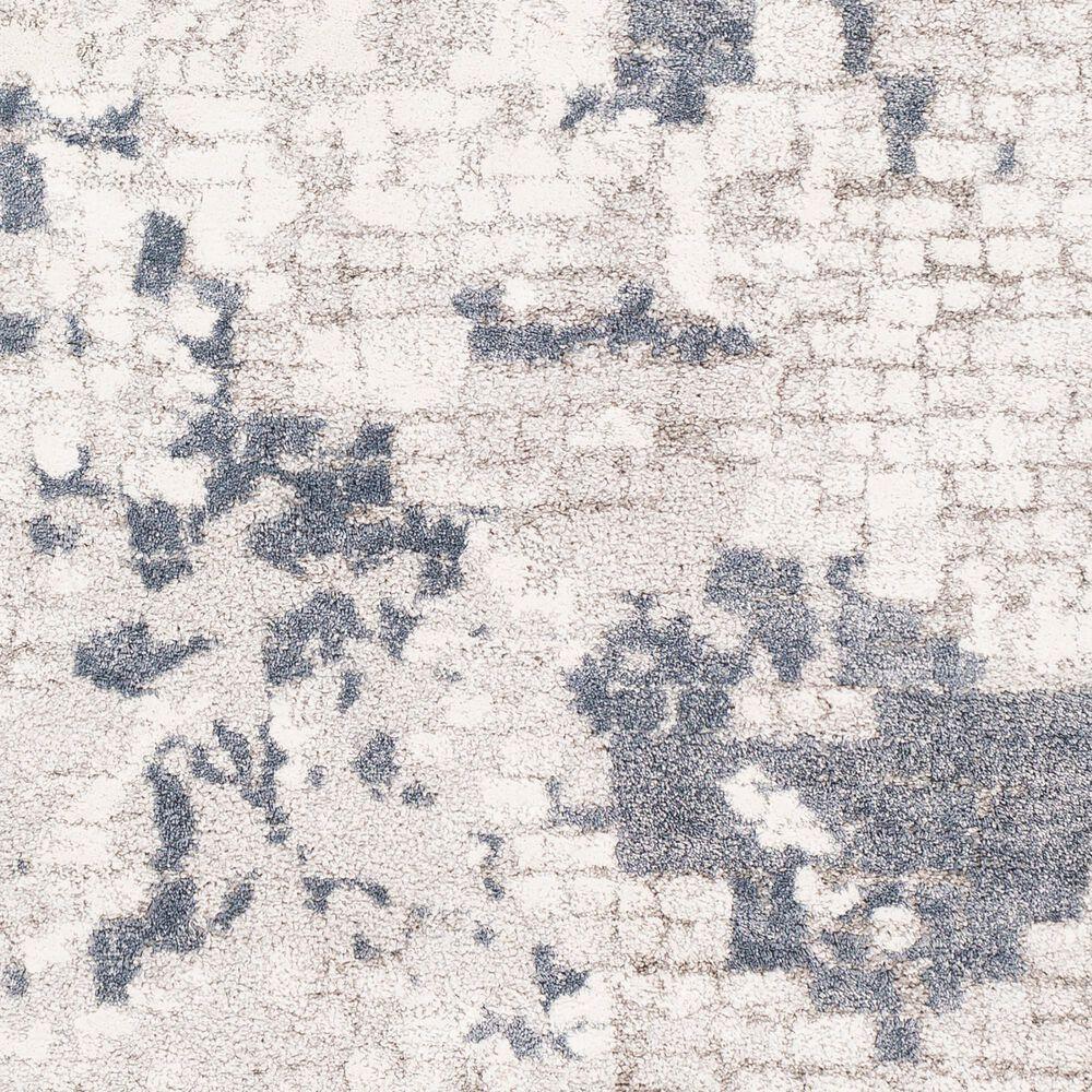 "Surya Venice VNE-2300 7'9"" Round Denim, Gray and Ivory Area Rug, , large"