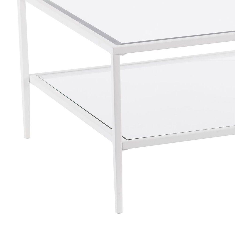 Southern Enterprises Keller Coffee Table in White, , large