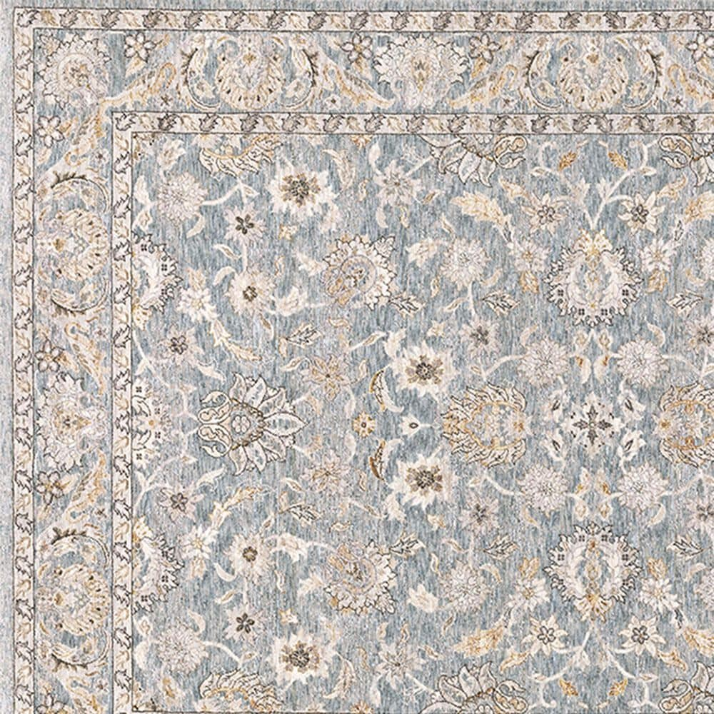 Oriental Weavers Maharaja Nepal 70E 2' x 3' Blue and Ivory Scatter Rug, , large