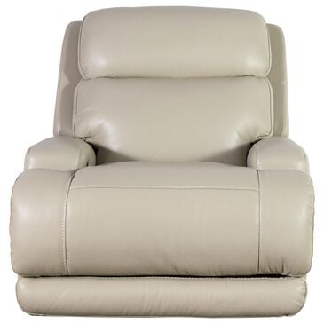Sienna Designs Leather Power Glider Recliner Chair with Power Headrest in Caesar Ivory, , large