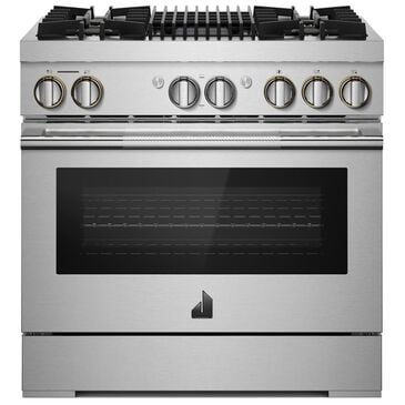 """Jenn-Air Rise 36"""" Professional Range with Gas Grill in Stainless Steel, , large"""