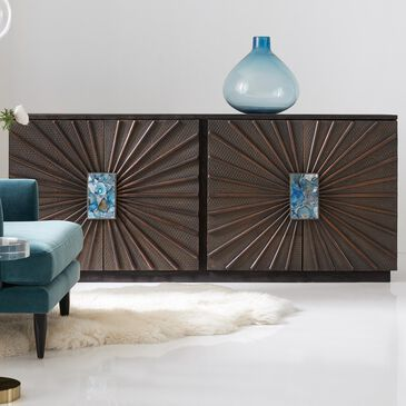 Hooker Furniture Melange Tara 2-Door Credenza in Brown, , large