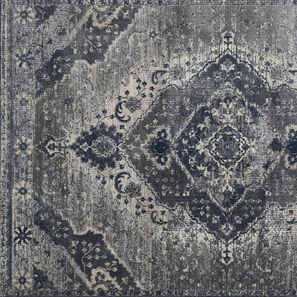 """Magnolia Home Everly VY-07 7'10"""" x 10'10"""" Gray and silver Area Rug, , large"""