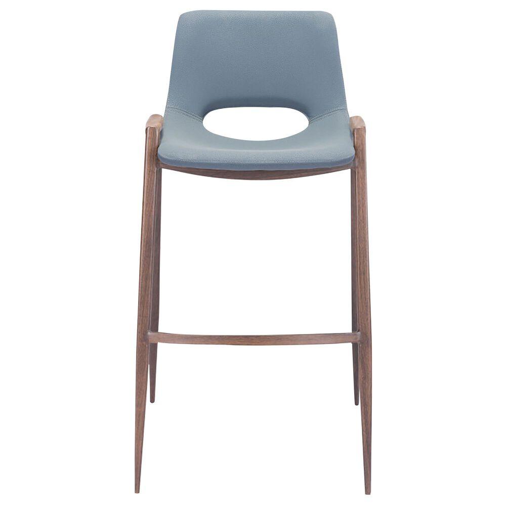 Zuo Modern Desi Bar Chair in Gray, , large