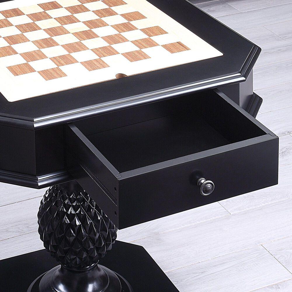 Gunnison Co. Bishop II Game Table in Black, , large
