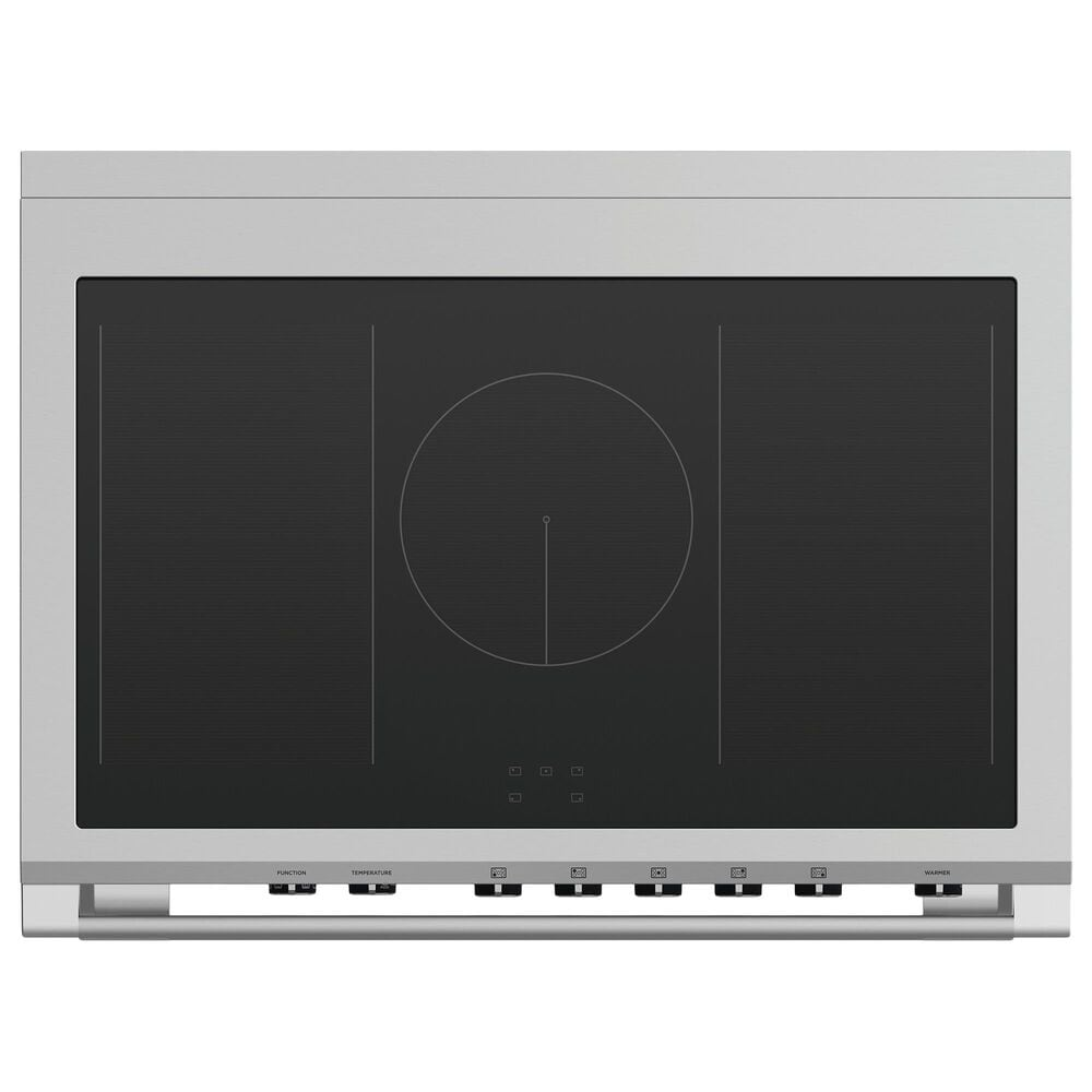 """Fisher and Paykel 36"""" Classic Induction Range with 5 Burners in Black, , large"""