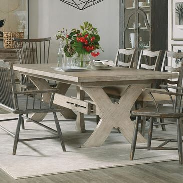Hooker Furniture Alfresco Dining Table in Light Taupe, , large