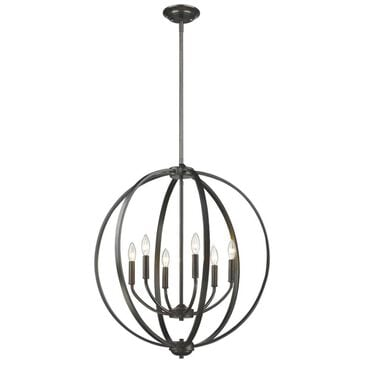 Golden Lighting Colson EB 6-Light Chandelier in Etruscan Bronze, , large