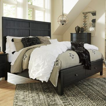 Signature Design by Ashley Noorbrook California King Bed in Black, , large