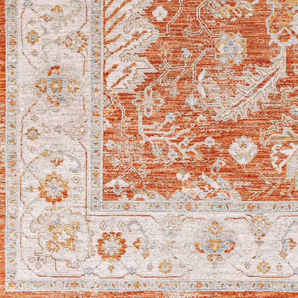 "Surya Avant Garde AVT-2317 6'7"" x 9'6"" Orange, Blue and Beige Area Rug, , large"