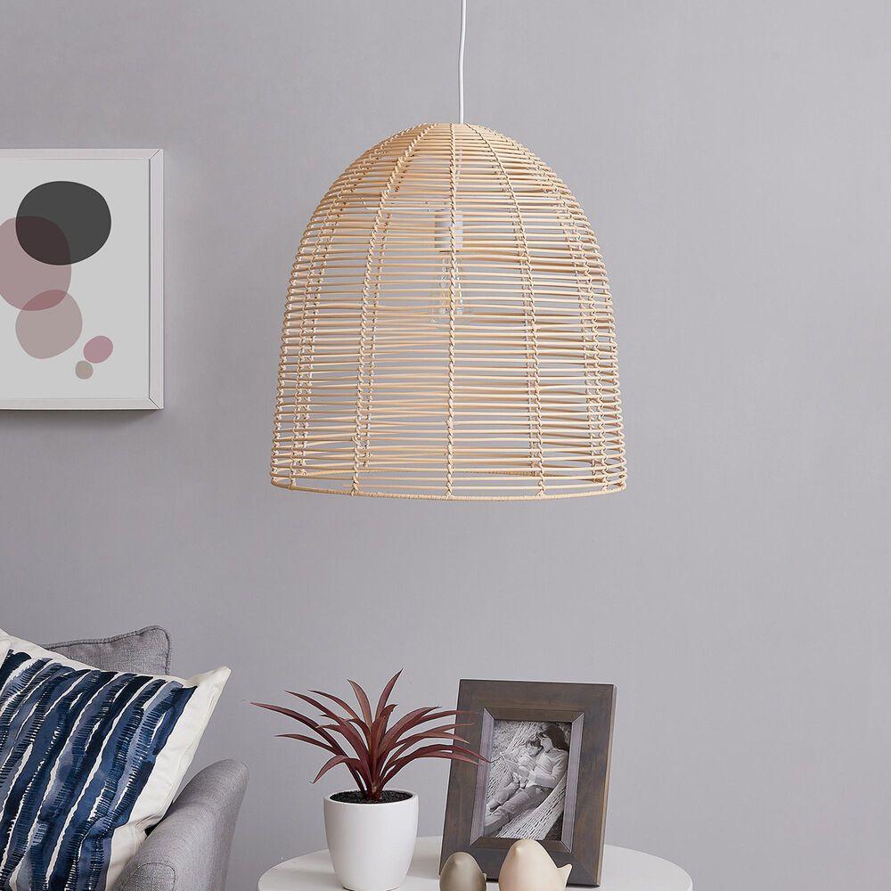 Southern Enterprises Formosa Pendant Lamp in Natural, , large