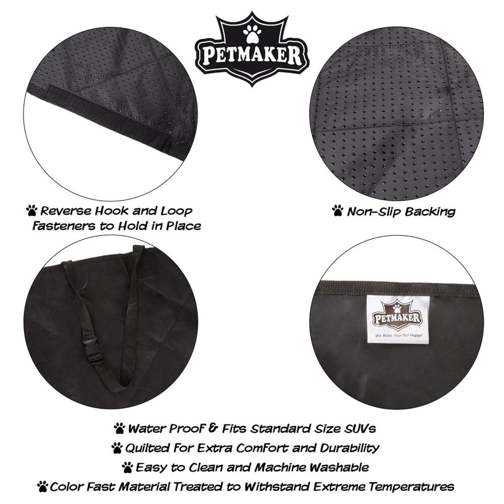 Timberlake Petmaker Cargo Liner Pet Cover For SUV in Black, , large