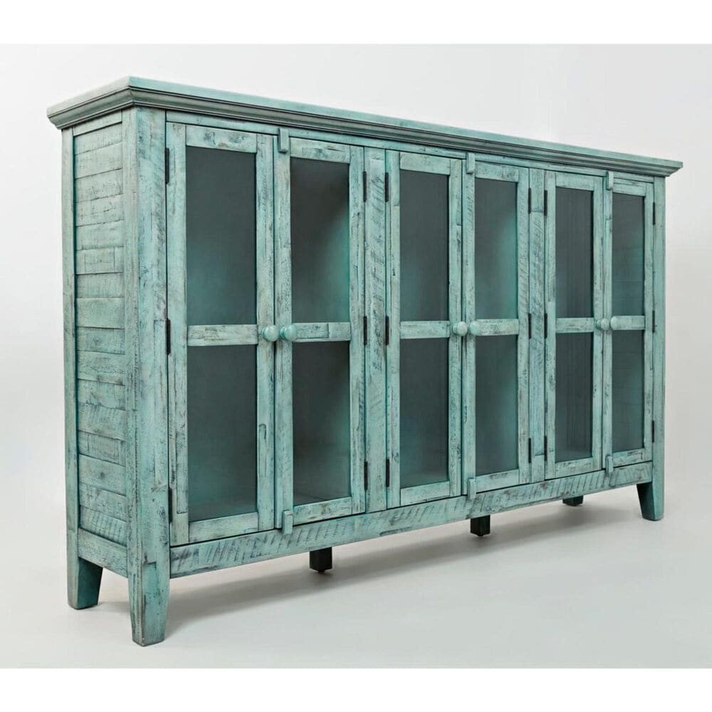 """Waltham Rustic Shores 70"""" Accent Cabinet in Surfside , , large"""