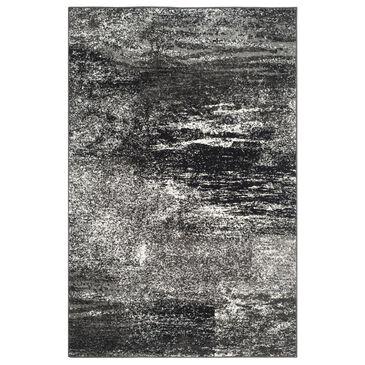 "Safavieh Adirondack ADR112A 6"" x 9"" Silver and Black Area Rug, , large"