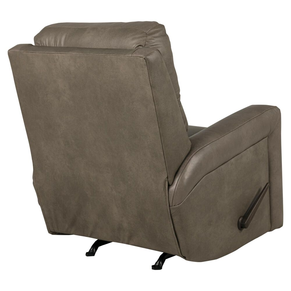 Southern Motion Leather Match Rocker Recliner in Cobblestone, , large