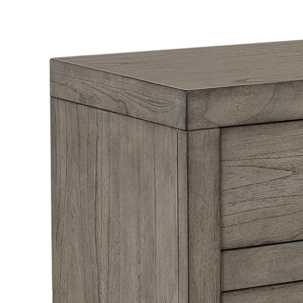 at HOME Modern Loft 2 Drawer Nightstand in Greystone, , large