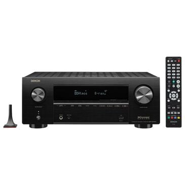 Denon 7.2 Channel 8K AV Receiver with HEOS Built-In in Black, , large