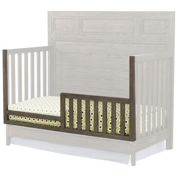 Eastern Shore Foundry Convertible Toddler Guard Rail in Brushed Pewter, , large