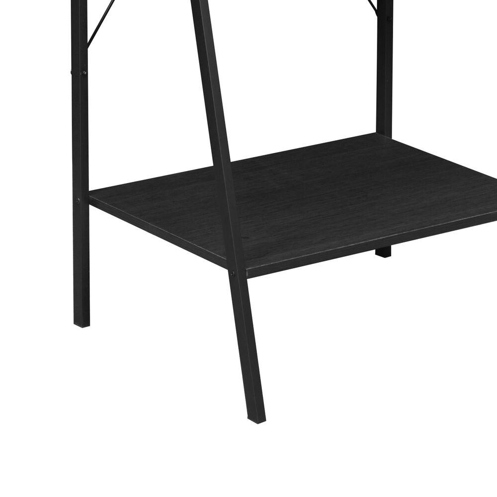 """Regency Global Sourcing Niche Soho 72"""" Ladder Bookcase in Black, , large"""