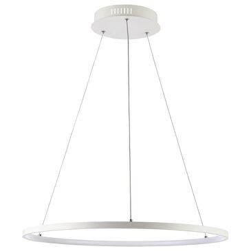Safavieh Porta LED Pendant in White, , large