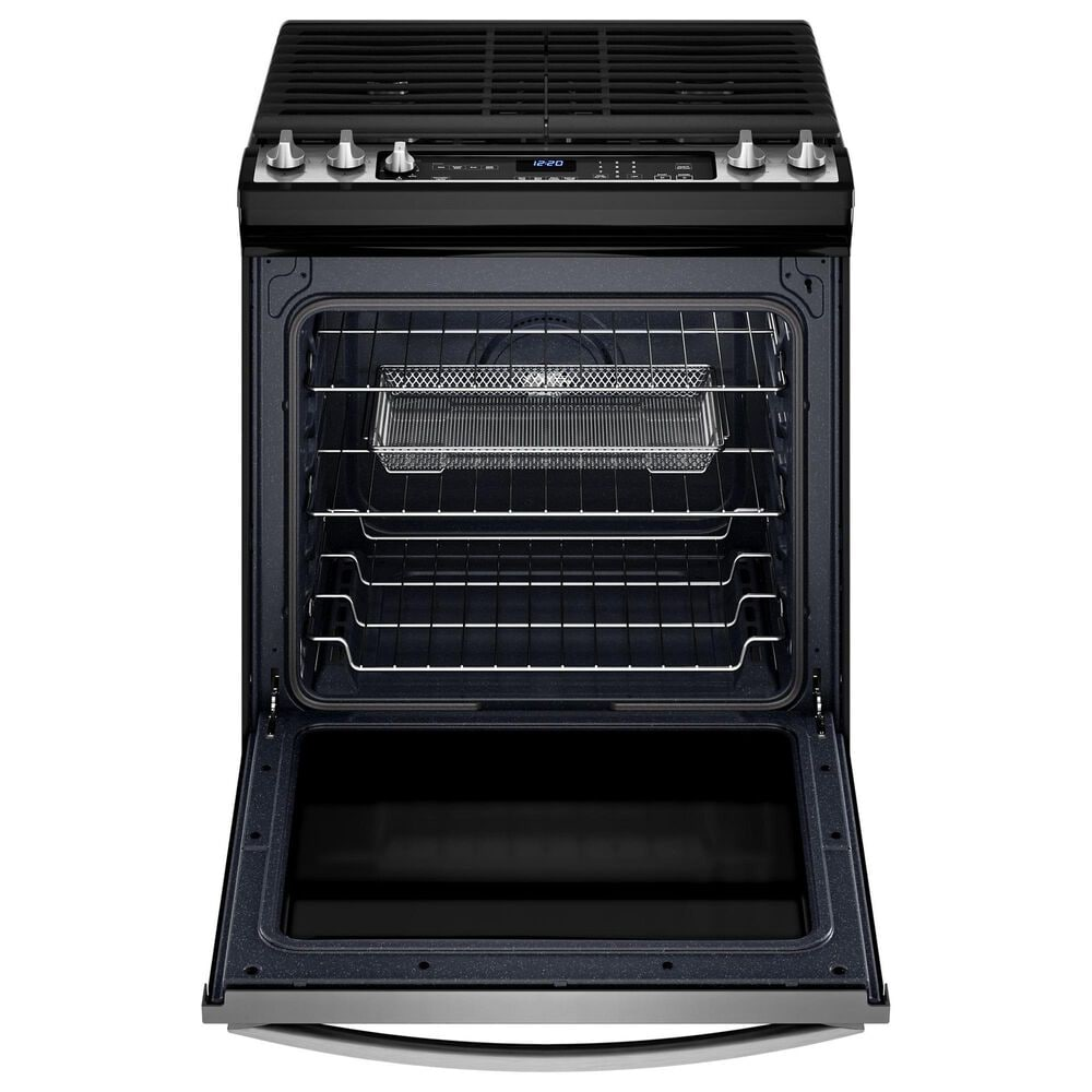 Whirlpool 2-Piece Kitchen Package with 5.8 Cu. Ft. Gas Oven and Microwave in Stainless Steel, , large