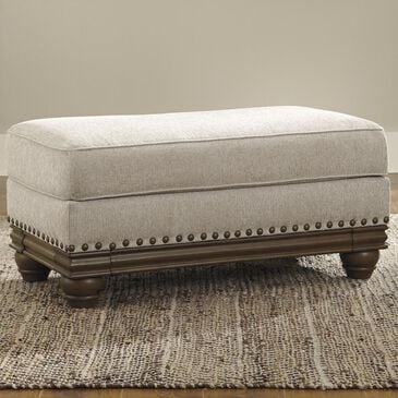 Signature Design by Ashley Harleson Ottoman in Wheat, , large