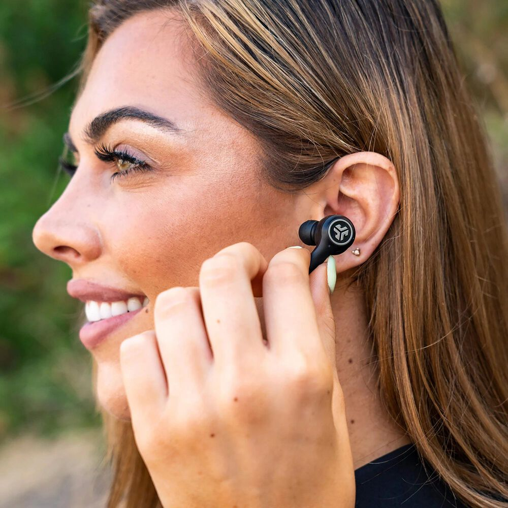 JLab Epic Air ANC True Wireless Earbuds in Black, , large