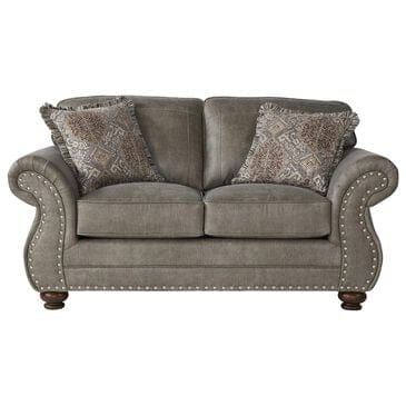 Hughes Furniture Loveseat in Goliath Mica, , large
