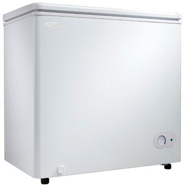 Danby 5.5 Cu. Ft. Chest Freezer with Front Mounted Drain , , large
