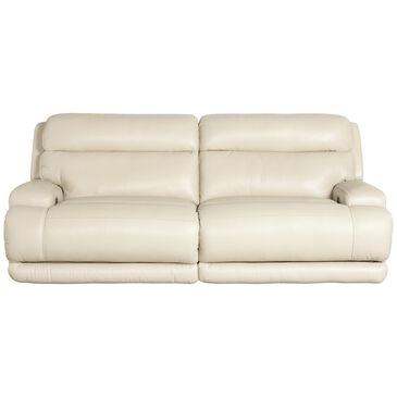 Sienna Designs Leather Power Recliner Sofa with Power Headrest in Caesar Ivory, , large