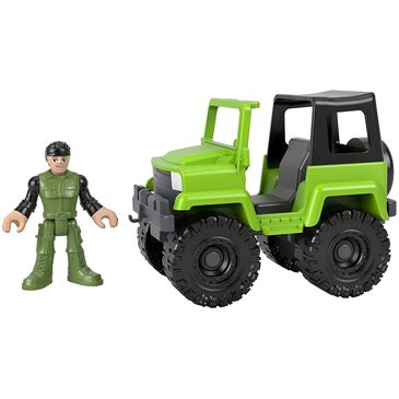 Fisher-Price Soldier and 4x4 Vehicle , , large