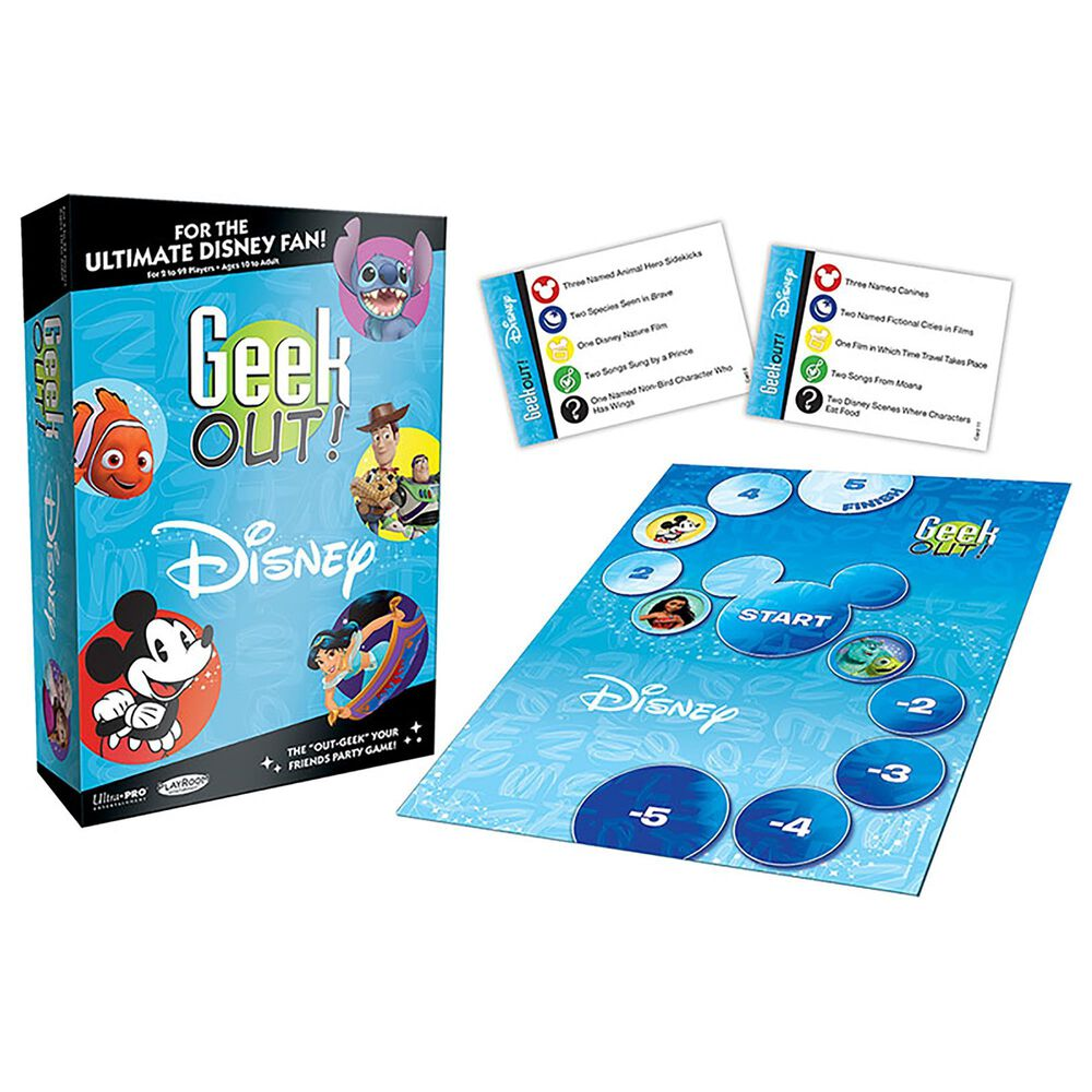 USAopoly Geek Out! Disney Game, , large