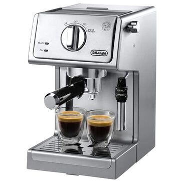 Delonghi Manual Espresso Maker in Stainless Steel, , large