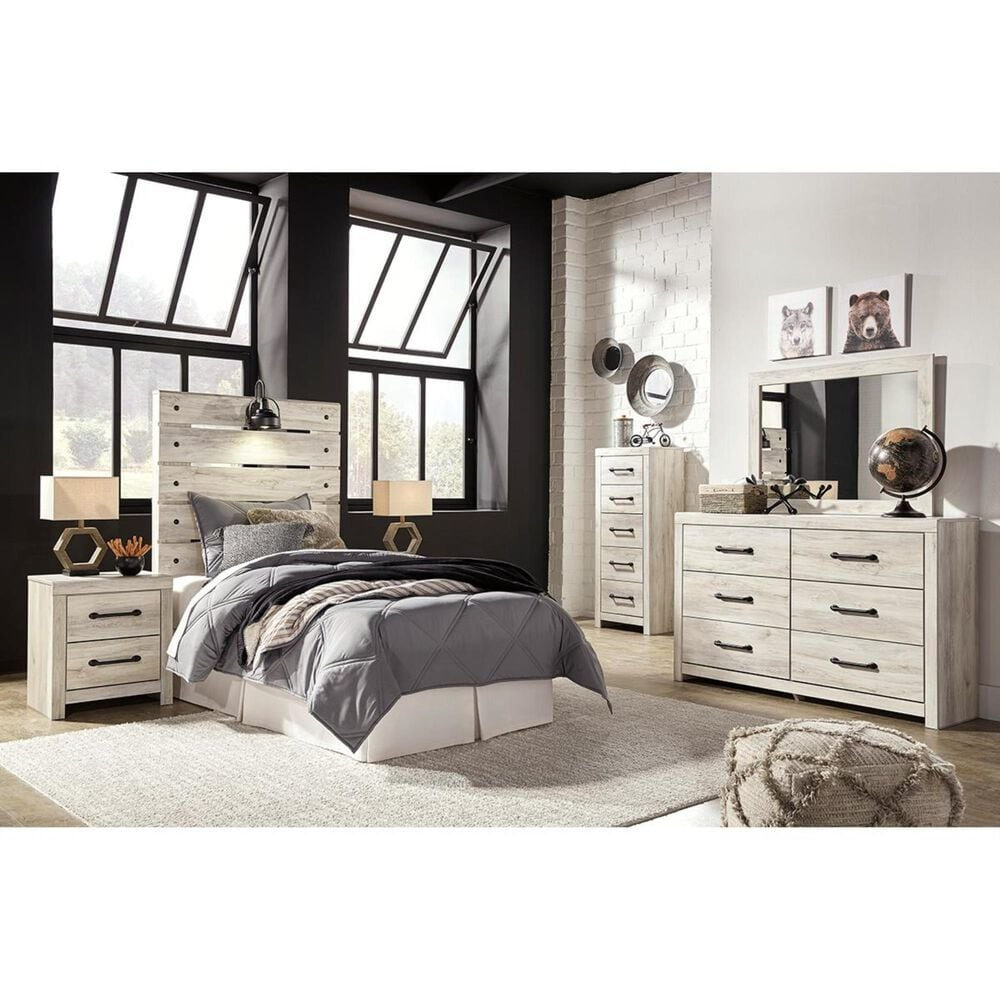 Signature Design by Ashley Cambeck Youth Dresser in Whitewash, , large