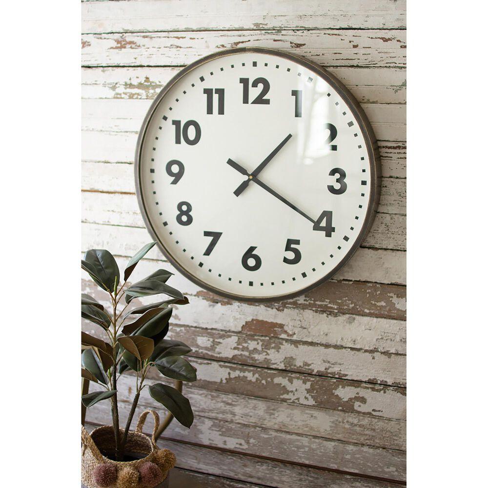 Kalalou Round Wall Clock, , large