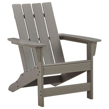 Signature Design by Ashley Visola Adirondack Chair in Gray, , large